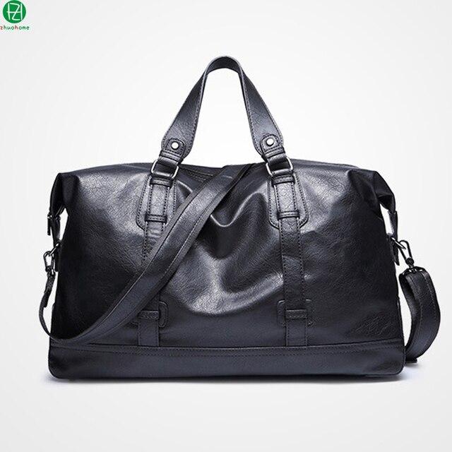 15.6 polegadas saco de viagem dos homens de couro de alta qualidade bolsas homens mensageiro mochila do vintage sacos de ombro crossbody sacos de zíper De Metal
