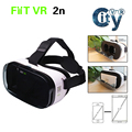 "FIIT VR 2N Virtual Reality 3D VR Glasses Headset Google Cardboard fit for 4.0"" to 6.5"" for Android & IOS Phone"