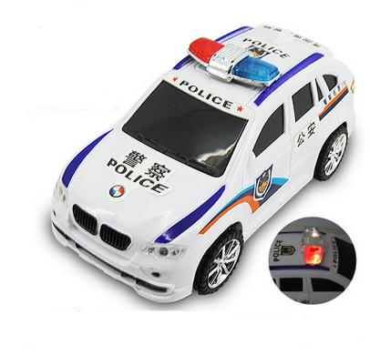 hot sale toy children electric light up police car model toys for kids