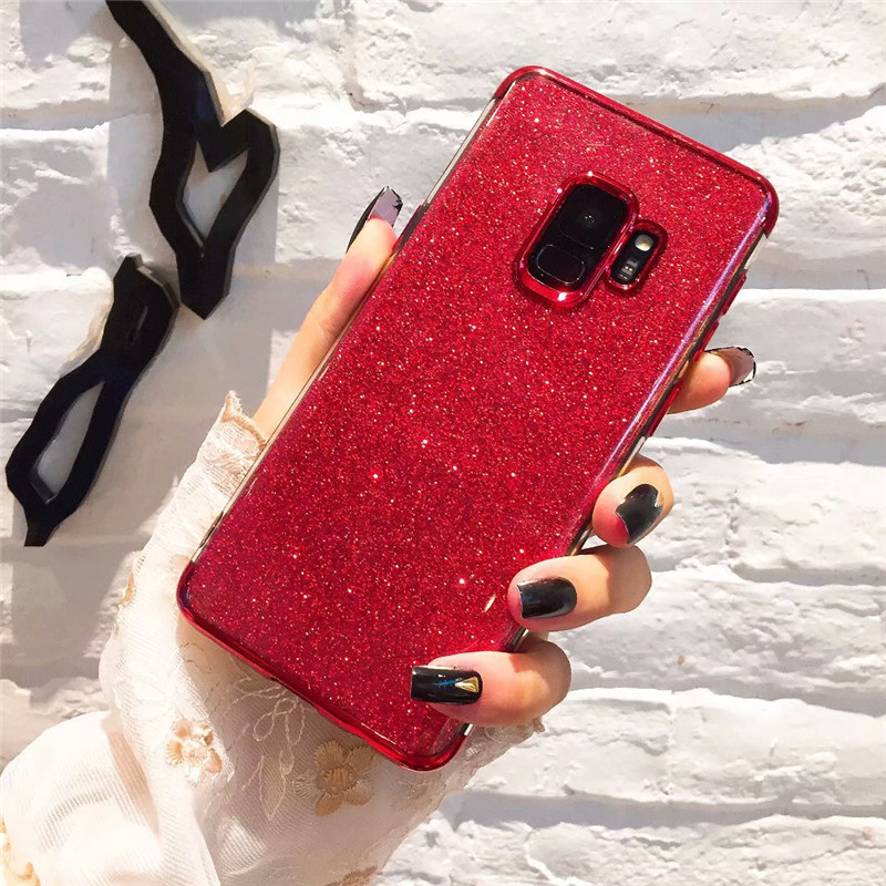 Soft TPU Gradient Silicone Cases for Samsung Galaxy J5 J7 A5 A3 A7 2016 2017 J4 J6 A8 A6 2018 s8 S9 Plus S7 S6 edge note 8 9
