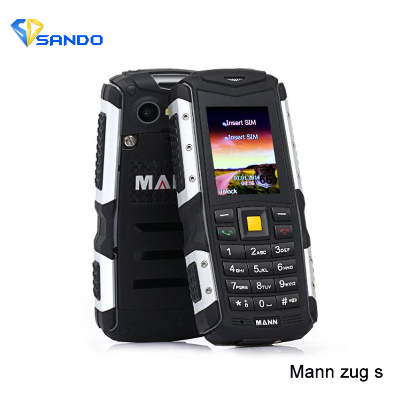 Original MANN ZUG S 2.0 Inch Screen Dustproof Outdoor Senior Keyboard Rugged Outdoor Mobile Phone Dual Sim Card long standby
