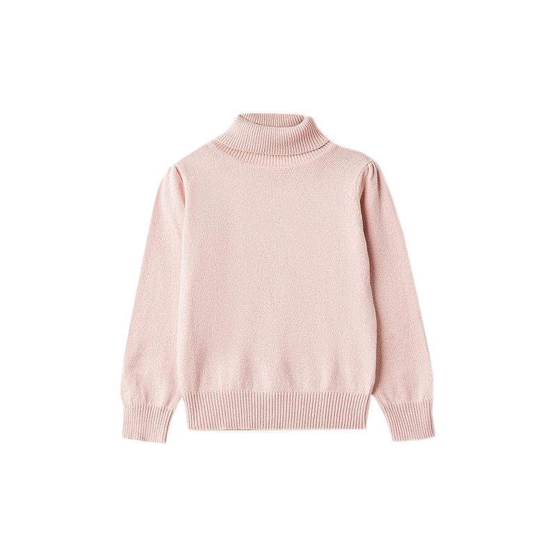 Sweaters MODIS M182K00356 jumper sweater pullover for girls kids clothes children clothes TmallFS beige cable pattern off shoulder pullover sweater
