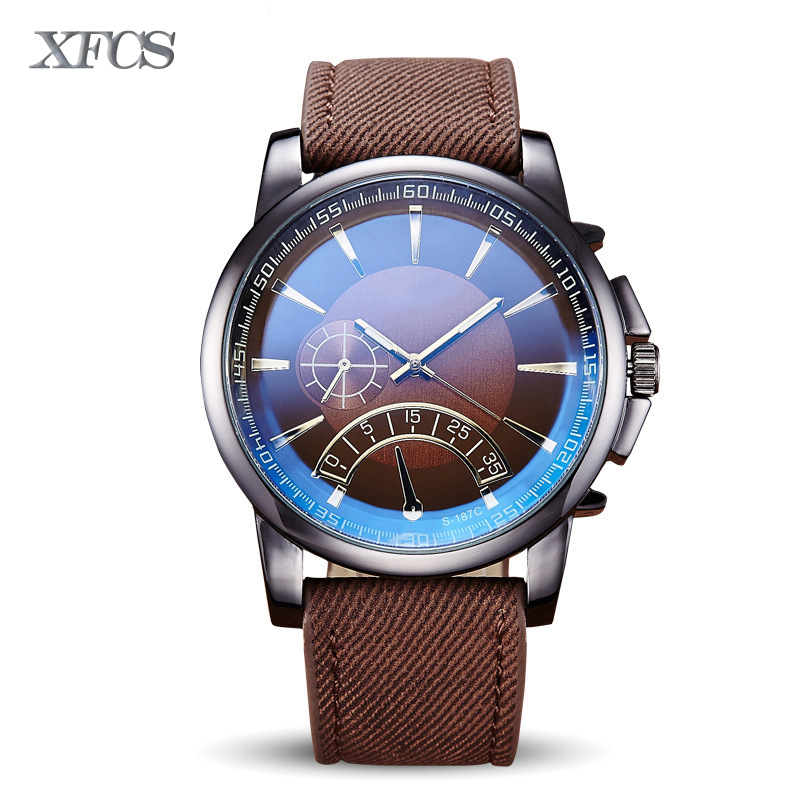 XFCS 2017 waterproof watch for man quartz automatic wristwatch mens famous brand watches topmerk tag original clock luxury