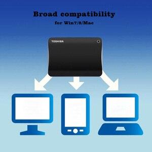 "Image 4 - Toshiba Canvio Advance USB 3.0 2.5"" 1TB 2TB Portable External Hard Disk Drive Mobile HDD Desktop Laptop Encryption hdd 2.5 1TB"