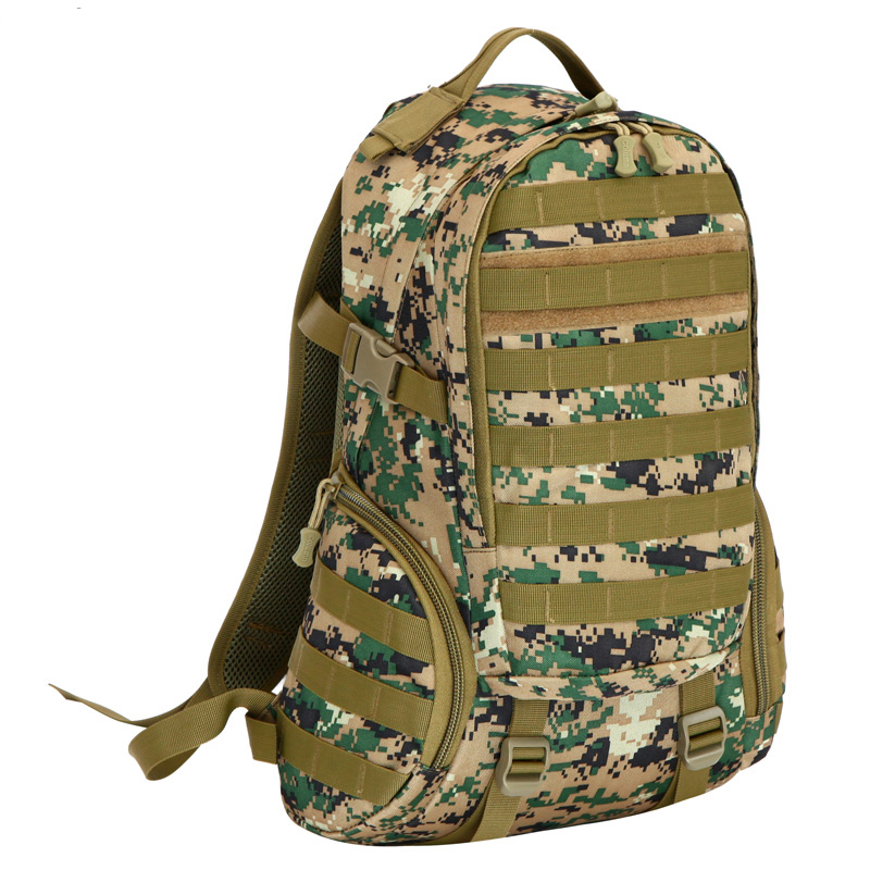 ФОТО 2016 New Fashion unisex shoulder bag Multifunctional Camouflage bag high quality travel bag 40L LO9330 free shipping