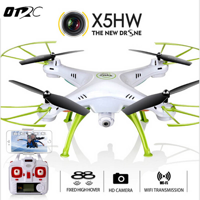 OTRC X5HW Camera Drone Quadrocopter Wifi FPV SYMA HD Real-time 2.4G 4CH RC Helicopter Quadcopter RC Dron Toy