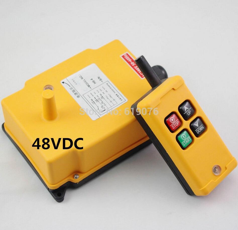 HS-4 48VDC 4 Channels Hoist Crane Radio Remote Control System hs 4 220vac 4 channels hoist crane radio remote control system