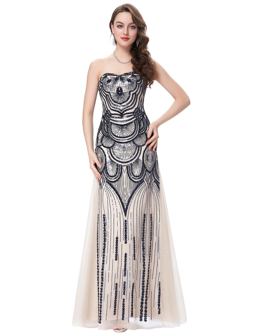 HTB14J7eKFXXXXcdXXXXq6xXFXXXGStrapless Special Occasion Dress