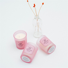DIY Candy Color Aromatherapy Smoke-free Candle Glass Holders Birthday Scented Making Wedding Decoration