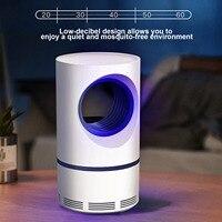 Behogar USB Powered Moskito Mörder Control Lampe Falle LED Elektrische Falle Lampe Im Freien UV Licht Tötung Lampe Für Moskito Insekt