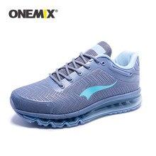 ONEMIX – chaussures de course respirantes à coussin d'air pour hommes, baskets de sport, de marche en plein air, de trekking, 2021