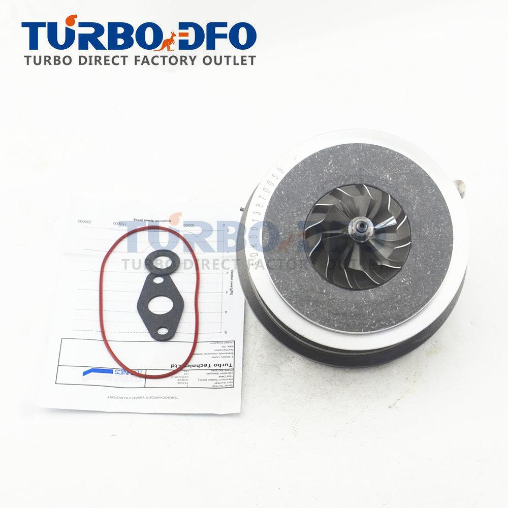 Turbo charger GTB1752VK 753546-14 for Land-Rover Freelander 2 2 TD4 DW12B 160 HP - Cartridge core CHRA turbine LR003578