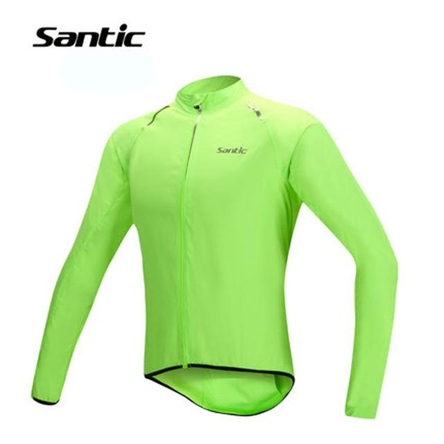 Santic Cycling Jacket Men Windproof MTB Bike Jersey Wind Coat Road Bicycle  Jacket Windcoat Cycling Clothing Ropa Ciclismo UPF30+ 093617813