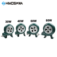 220V~240V household blower Iron Barbecue blower Small centrifugal blower 30W 40W 60W 80W EU US Plug adapter Green for barbecue