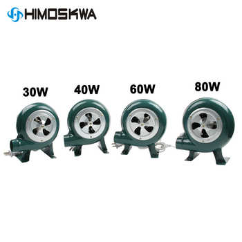 220V~240V household blower Iron Barbecue blower Small centrifugal blower 30W 40W 60W 80W EU US Plug adapter Green for barbecue - DISCOUNT ITEM  24 OFF Tools