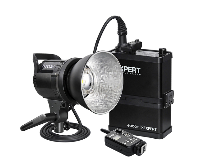 godox rs600p 600w portable strobe flash light studio outdoor