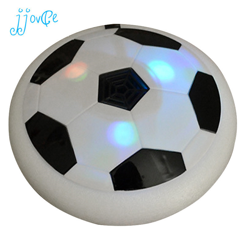 цена Led Light Hover Ball Electric Floating Football Boy Toy Indoor Safe Foam Hovering Soccer Interactive Toys For Children