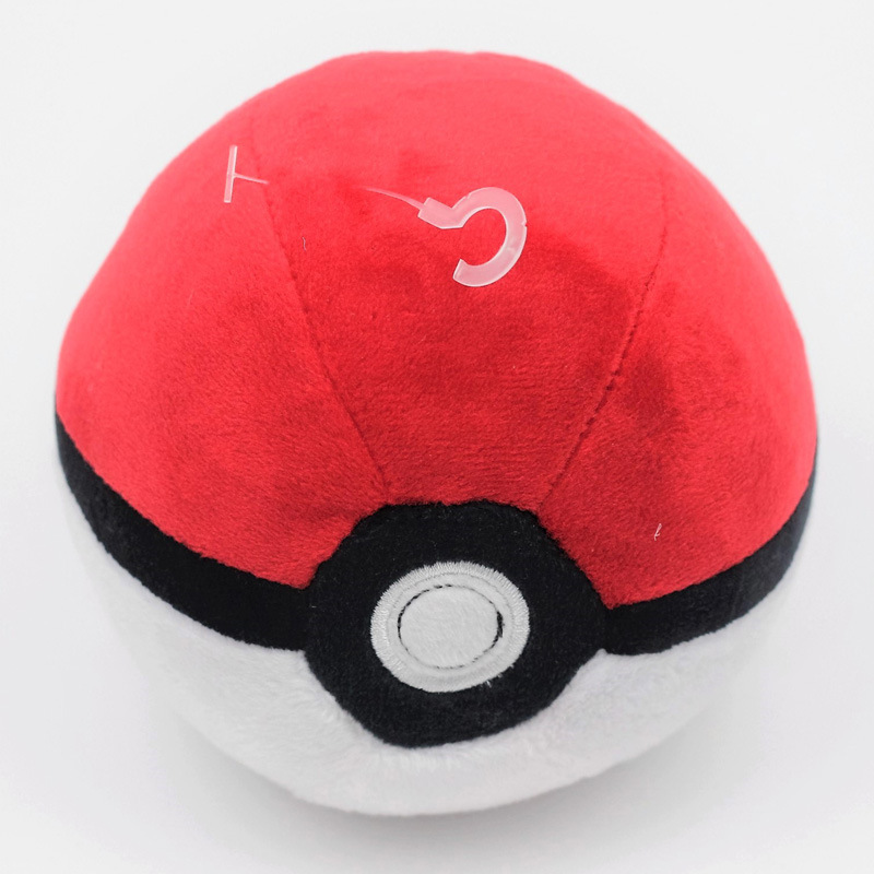 Image 3 - 6 Styles Pokeball High Quality Cute 12CM Plush Toys Cartoon Anime Stuffed Dolls Children Birthday Gift-in Action & Toy Figures from Toys & Hobbies
