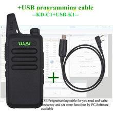 WLN KD-C1 мини-рация UHF 400 мГц 470 5 Вт мощность 16 каналов мини-портативный трансивер лучше, чем BF-888S