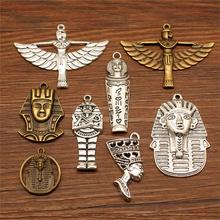 3 Piece Ancient Egypt Decoration Mix Charms For Jewelry Making Diy Craft Supplies Souvenirs