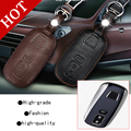 High Quality for Luxgen7 Luxgen 7 S5 U6 car styling cover detector Leather keys keyChain bag cases intelligent/folding Graffiti