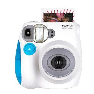 Image 5 - Fujifilm Instax Mini 7s anında Film fotoğraf kamerası mavi pembe siyah ücretsiz kargo, kabul Fuji Fujifilm Instax Mini Film