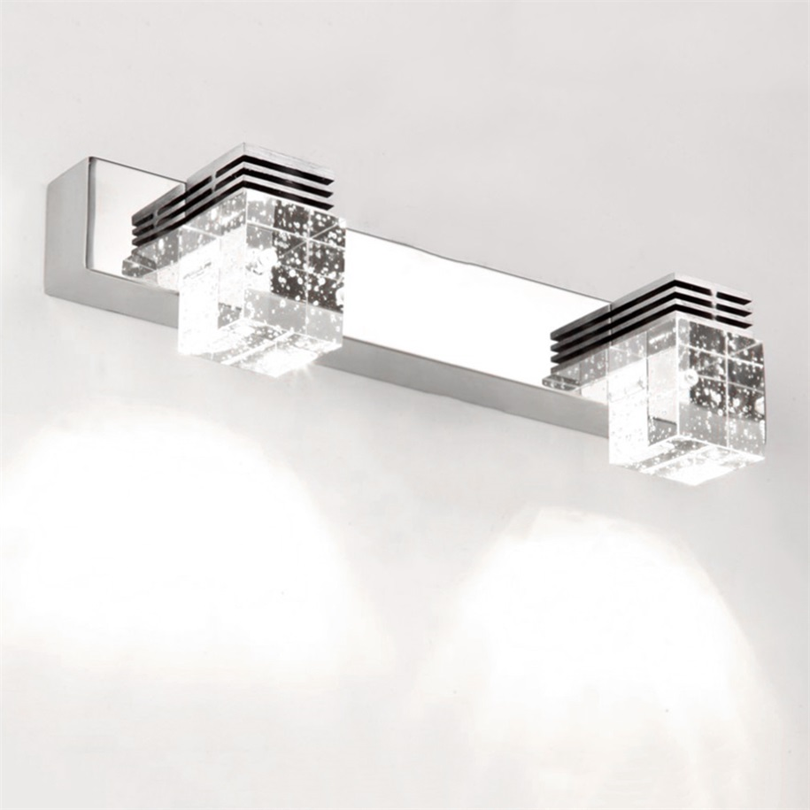 Crystal lights for bathroom - Hot Led 3w Waterproof Crystal Mirror Picture Wall Lights 5730 Bathroom Lamp Home New China