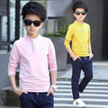 Camiseta de niño de primavera desgaste 5 6 7 8 9 10 11 12 13 14 15 Ropa de Los Cabritos Niños Tops Adolescentes Niños Ropa Casual Camisa