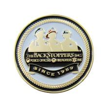 3D Custom Die Casted Bronze Police Officers Metal Challenge Coins