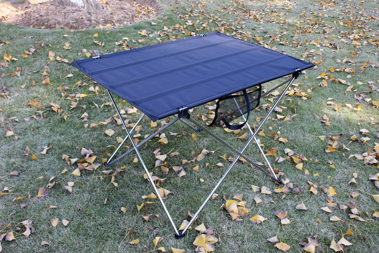 цена на Aluminum alloy Portable Outdoor dining table Garden Folding desk With Waterproof Oxford cloth