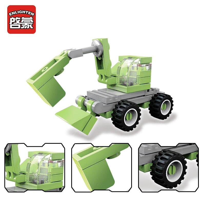 enlighten city car model building block kits bricks plastic ninjago juguetes diy decool duplo compatible with brand toy for kids