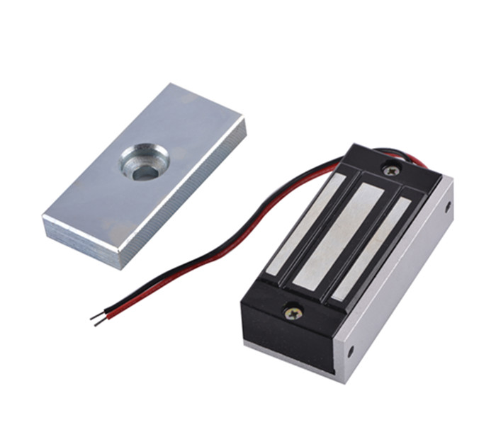 Access Control Single Door 12V Electric Magnetic Electromagnetic Lock 60KG Holding Force