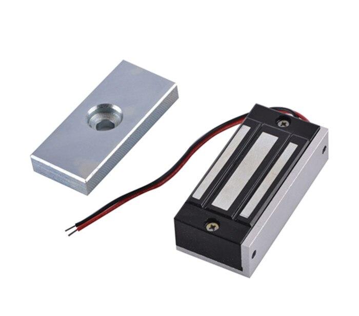 imágenes para Sola Puerta de Control de acceso 12 V Eléctrica Magnética Cerradura Electromagnética 60 KG Fuerza de Retención