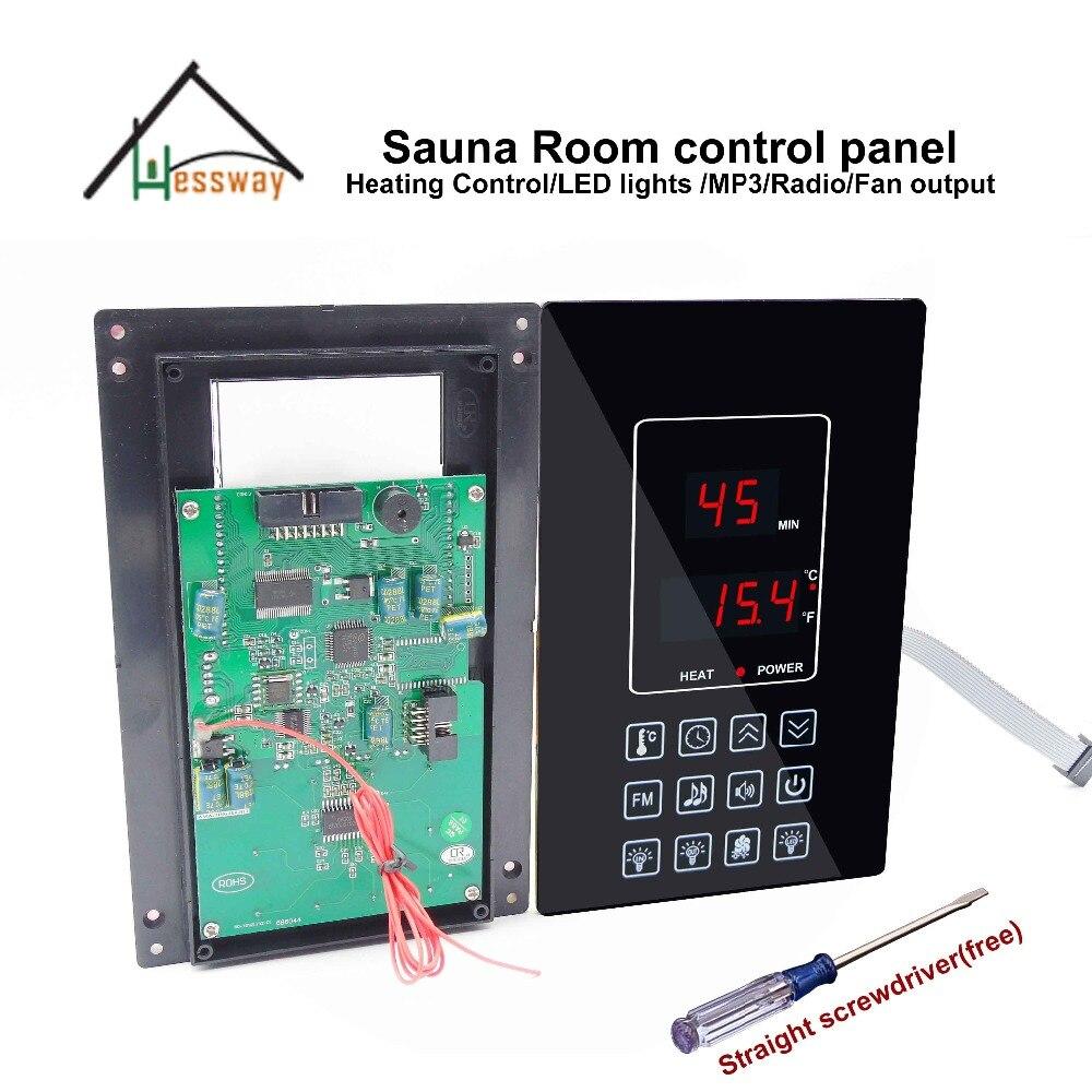 220V 110V мощность сухая парная паровая сауна системы управление для 30A реле параллельные выходы