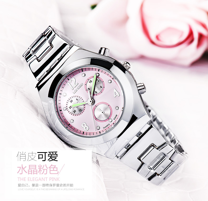 Fashion LONGBO Brand Luxury Waterproof Casual Quartz Watch Women Lady Gift Watches Waterproof Stainless Steel Watch Montre Femme longbo new korean luxury jewelry business casual men brand watches fashion leisure waterproof women dress ceramics quartz watch
