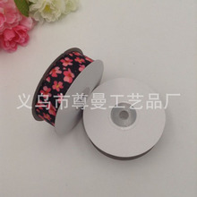 Ribbon 2.5cm Wide DIY Digital Printing Sublimation Line Webbing Flower Series Clothing Material Accessories Decoration