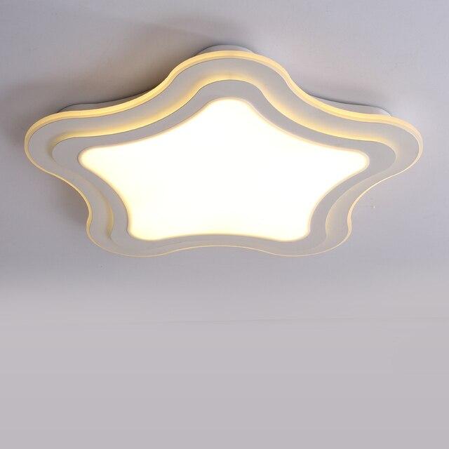 indoor lighting modern led ceiling lights acrylic luminaria color