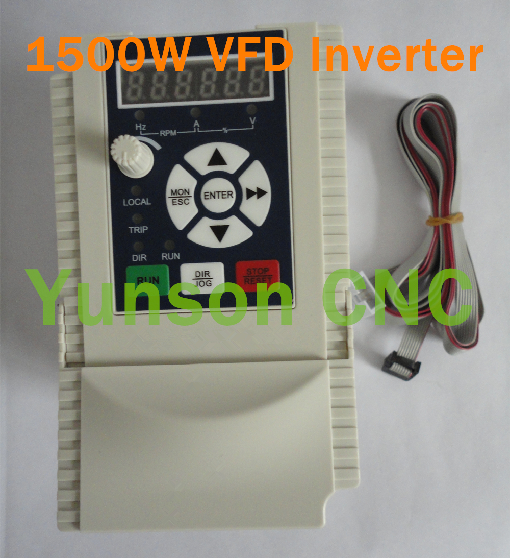 Online Shop 15kw 1500w 2hp 400hz 220v Input And Ouput Motor Wiring Diagram For Vfd Drive Variable Frequency Inverter Cnc Router Spindle Aliexpress