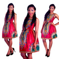 """2017 African Clothing African Dashiki Dresses New Sale Bazin Riche Printing Of Folk Customs, Big Bust Substitutes """"women Thanks"""