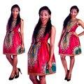 """2017 Ropa Vestidos Nueva Venta Bazin Riche Africano Dashiki Africano Impresión De Las Costumbres Populares, Busto grande Sustitutos """"mujeres Gracias"""