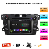 7 Inch 1024 600 HD Android 5 11 CAR DVD Player FOR MAZDA CX 7 2012