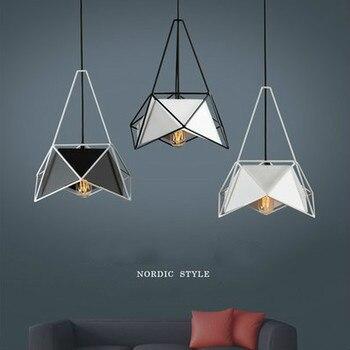 Neue Geometrische Anhänger Beleuchtung Designer Einfache Mehrdimensionale Hängen Lampe Kreative Kunst Restaurant Küche Beleuchtung Leuchte