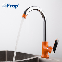 Frap New Arrived Modern Fashion Style Brass Kitchen Sink Faucet Optional 360 Degree Rotation Torneira Cozinha