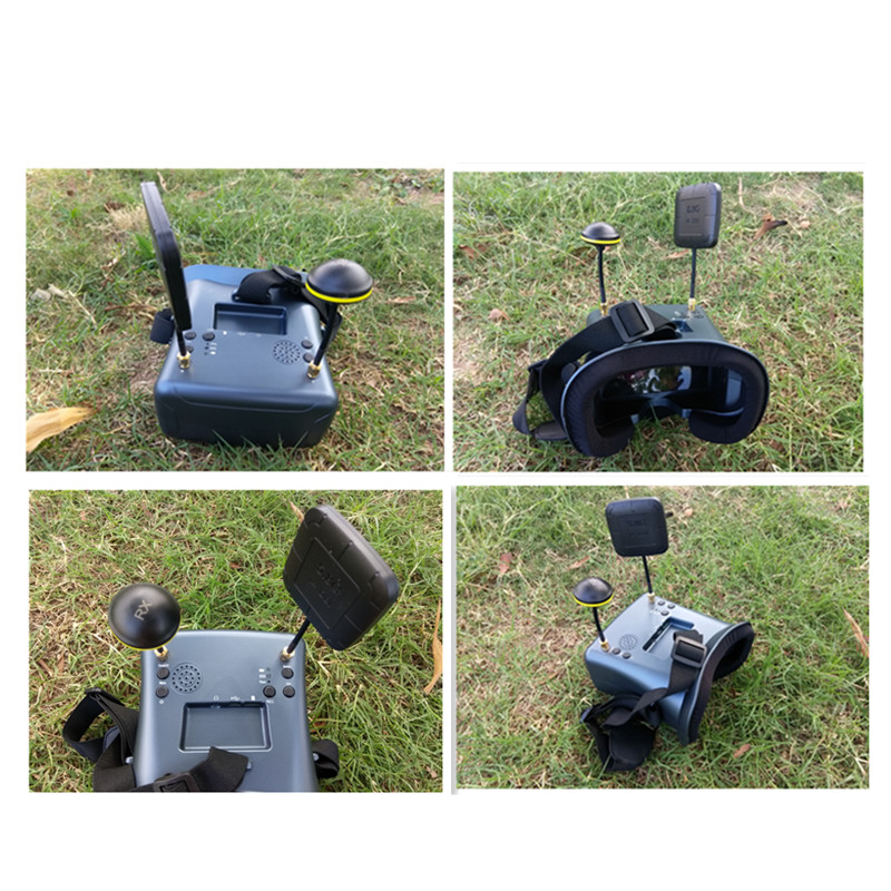 5,8g FPV gafas VR HD 40CH 2000mA batería incorporada DVR la diversidad FPV gafas de realidad Virtual para RC FPV Drone