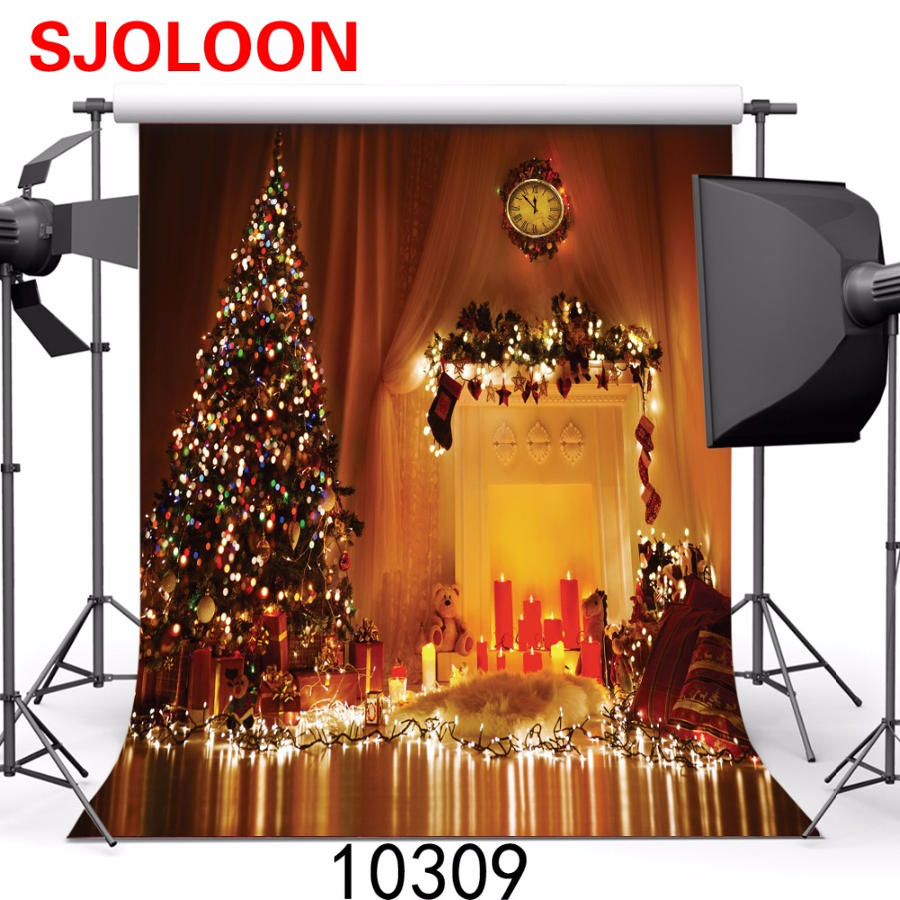 New  christmas photography backdrops SJOLOON christmas photo studio background vinyl Backgrounds christmas Backgrounds for photo накопительный водонагреватель bosch tronic 8000t es 080 5 2000w bo h1x edwrb