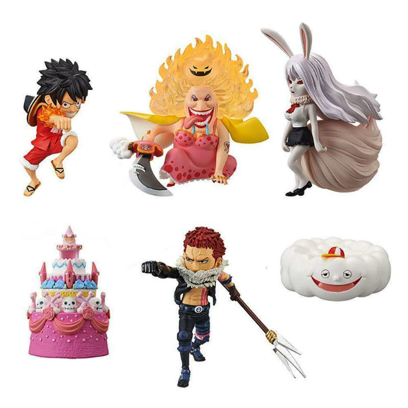 ONE PIECE WCF World Collectable Figure WHOLE CAKE ISLAND 3 Complete set