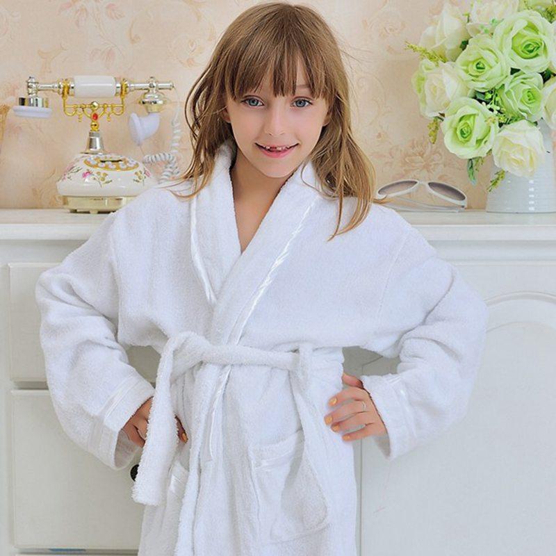 Child cotton bathrobe kids towels bathrobe model baby bath robe ...