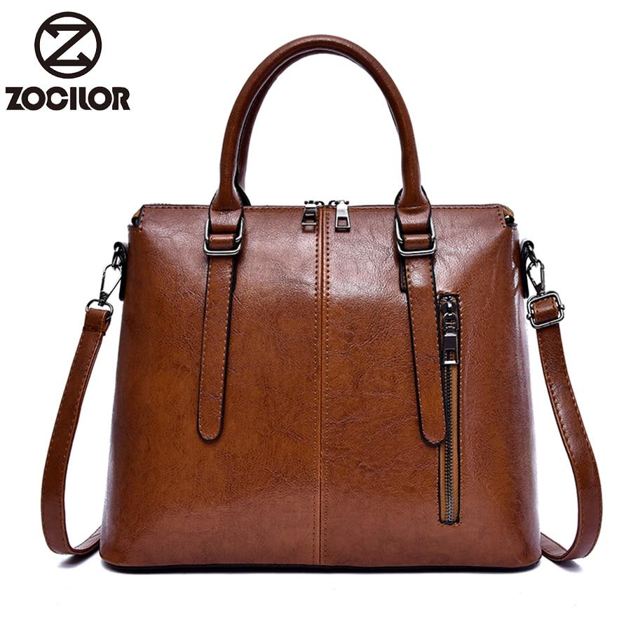 2018 Fashion Pu Leather Women Bag Female Tassel Pendant Women Handbag Double Zipper Large Women Messenger Bags Sac
