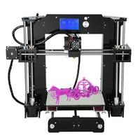 Anet A6 3D Printer Desktop Unit High Precision Full Acrylic Reprap Prusa I3 DIY3D Printer Kit