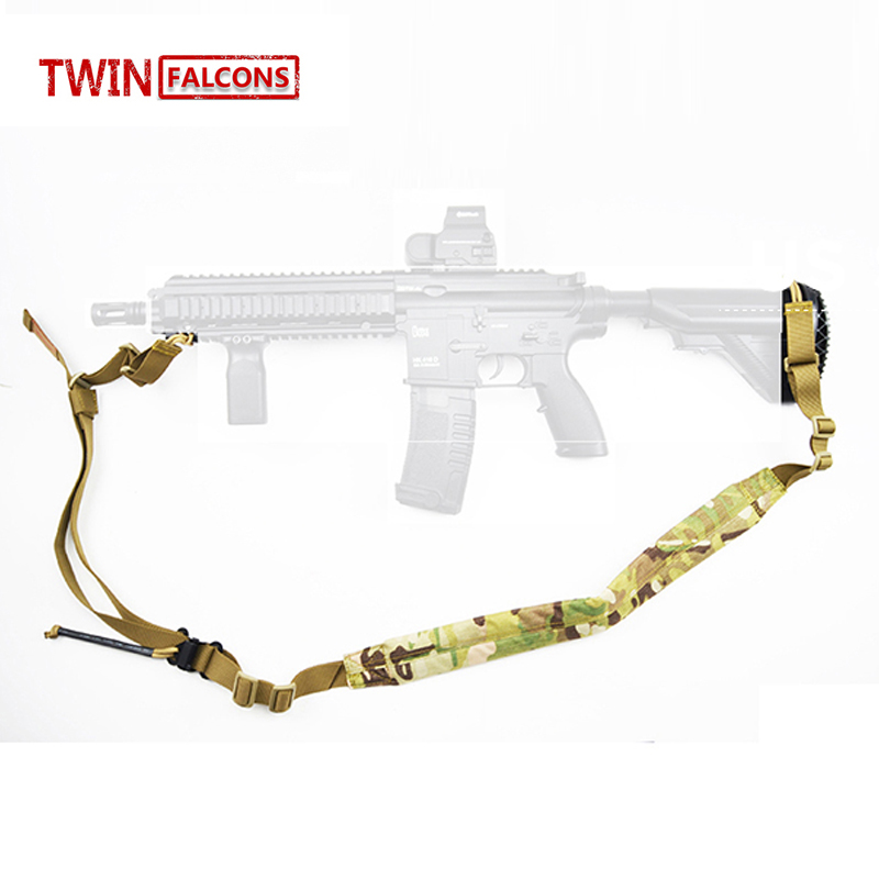 Two 2 Point VK Padded Weapon Sling VT AC VT AC Quick Adjust Airsoft Paintball Tactical